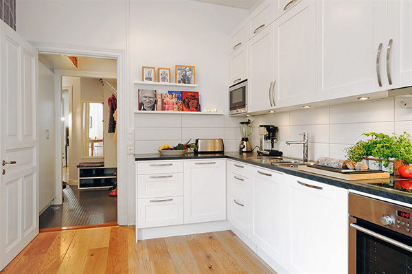 Mẫu thiết kế nội thất phòng bếp chung cư
