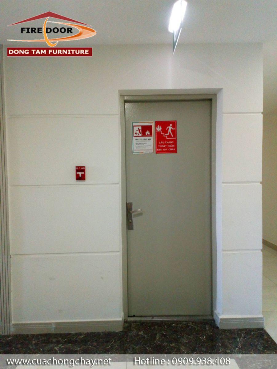 báo giá cửa chống cháy