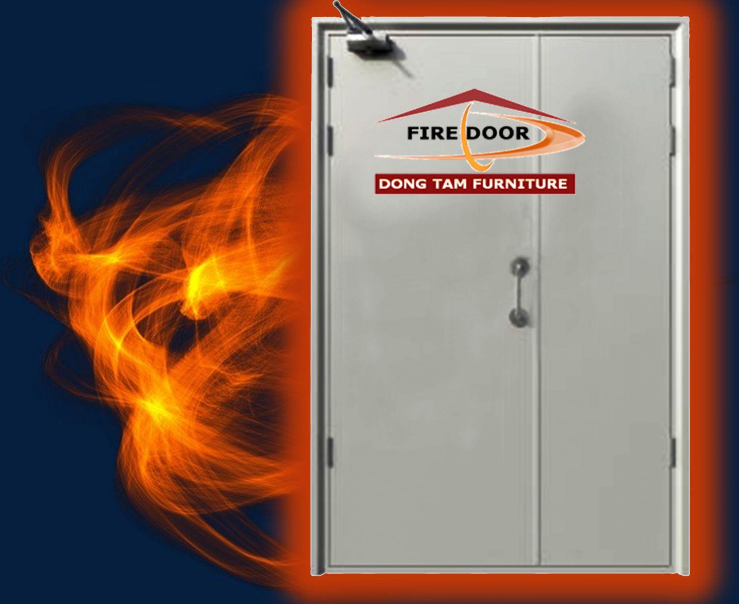 cửa sắt chống cháy