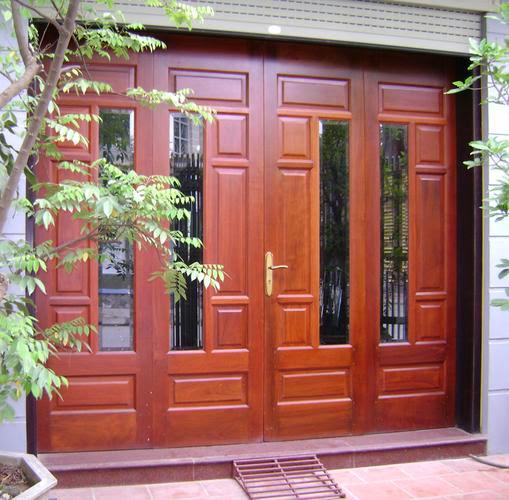 Cửa thép vân gỗ cửa chính