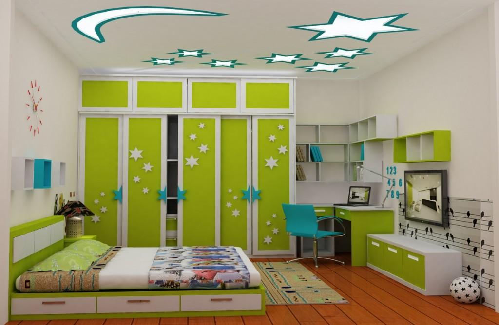 Thiết kế phòng ngủ trẻ em mang đậm phong cách và cá tính của mỗi giới