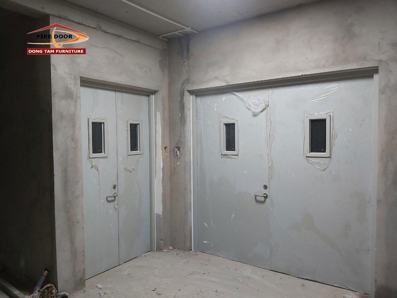 công trình cửa chống cháy