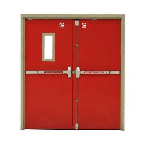 cửa thép chống cháy 2 cánh